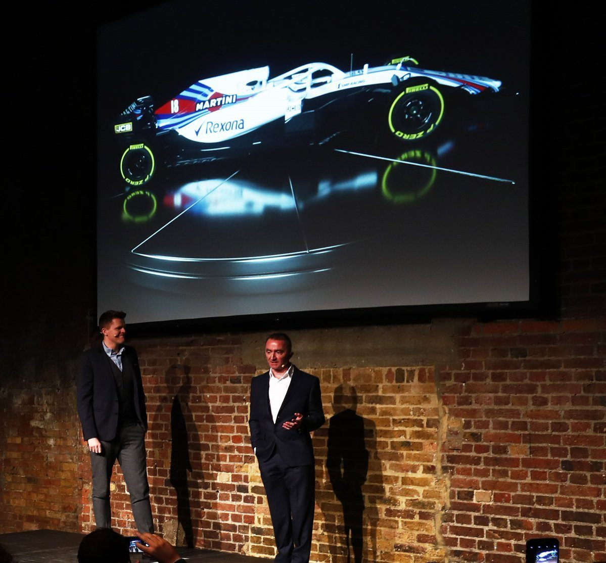 Презентация Williams FW41 © http://f1grandprix.motorionline.com