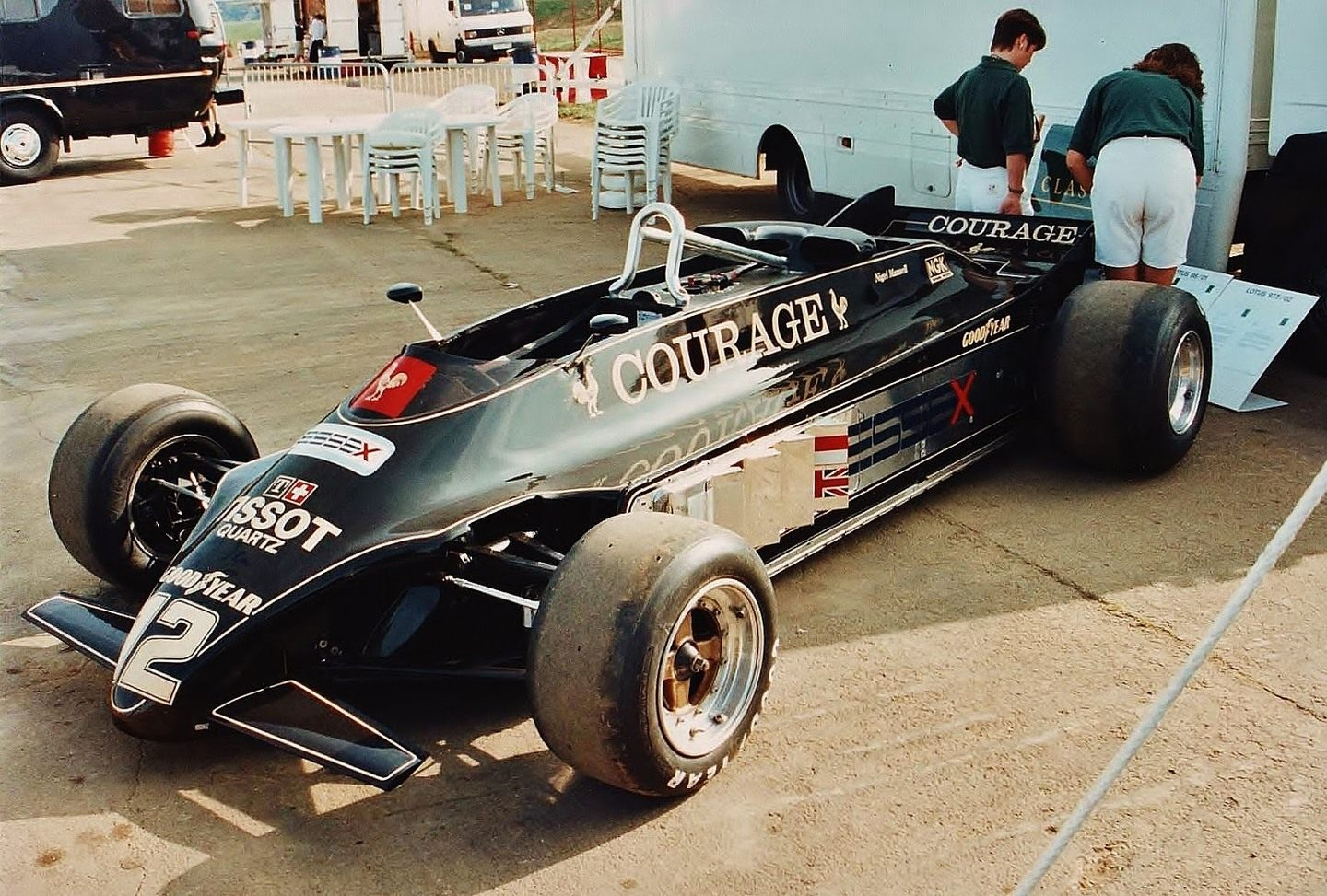 Lotus 88 © Ferraris and Other Things