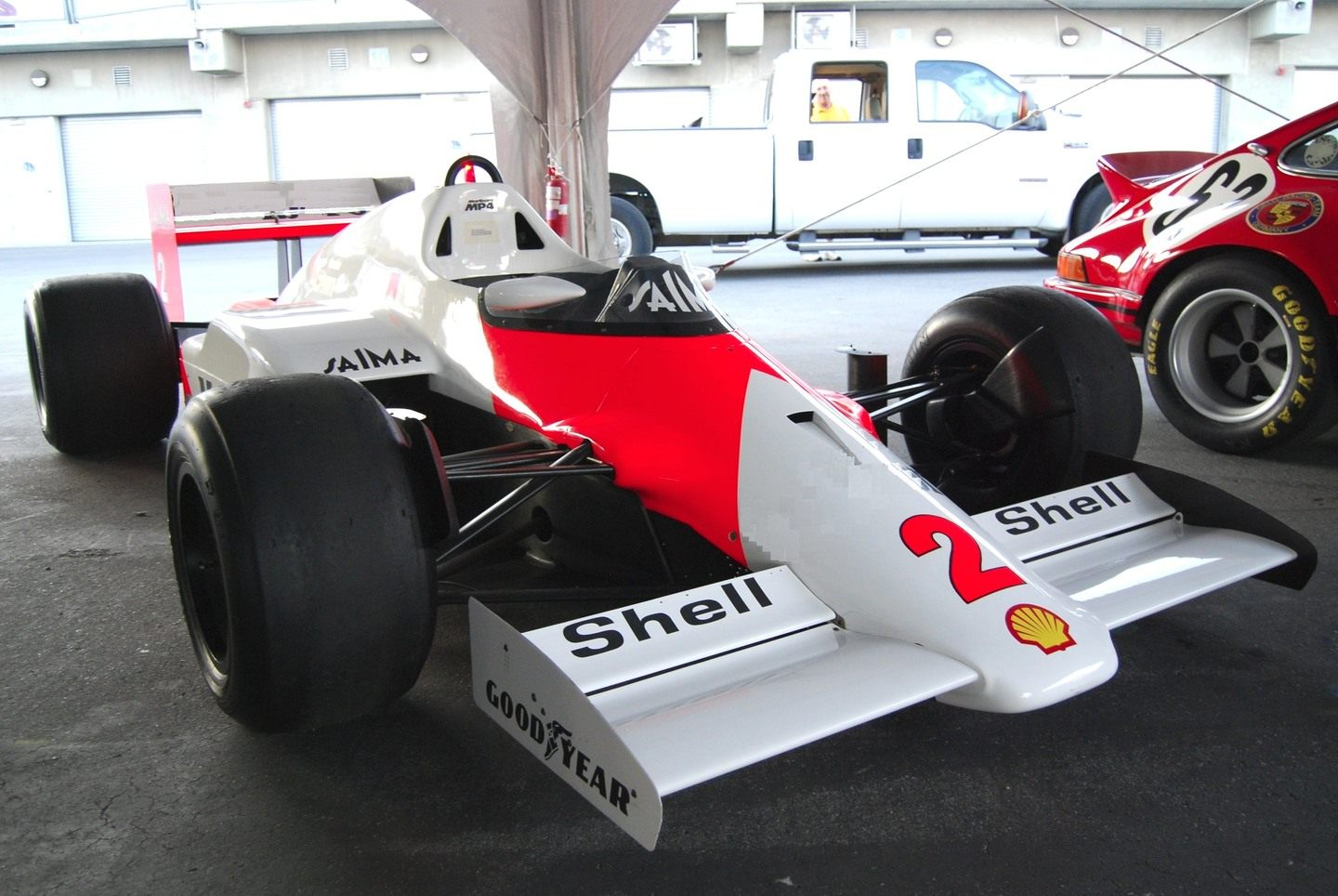 McLaren MP4/2 © Wikimedia Commons