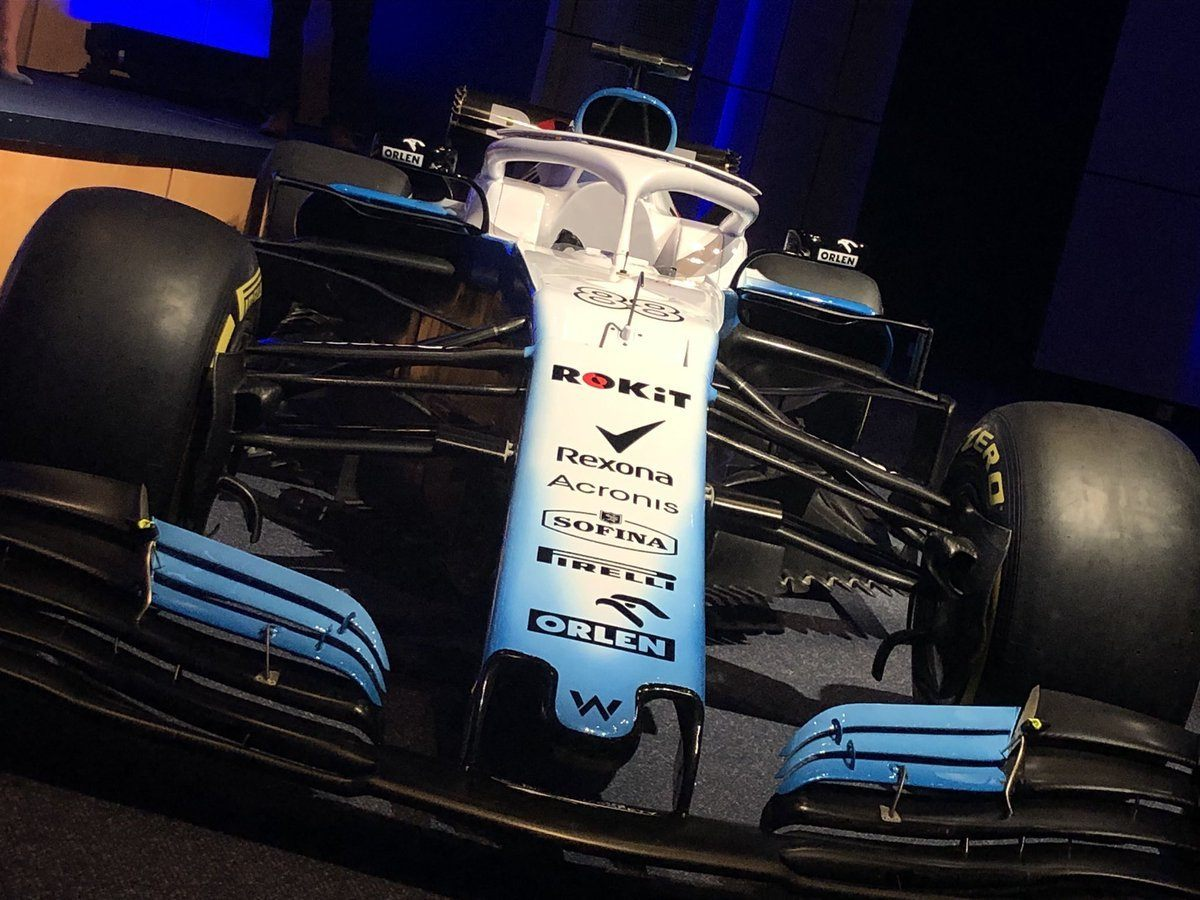 Ливрея Williams FW42 © Williams