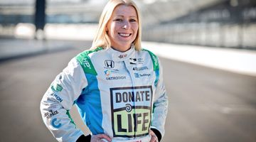 Пиппа Манн выступит в Инди 500 за Dale Coyne Racing